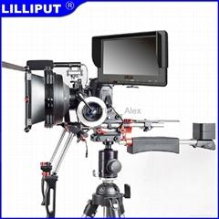"LILLIPUT 7"" LCD Monitor with HDMI & YPbPr&AV Input"