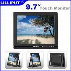 利利普 9.7寸触摸显示器 5线触摸屏 IPS全视角液晶屏 1024×768
