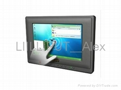 利利普 7寸表面聲波觸摸顯示器帶HDMI、DVI接口 659GL-70NP/C/T