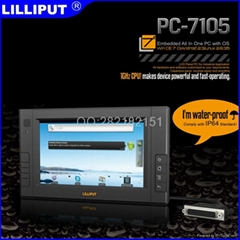 "LILLIPUT  Capacitive Panel 7"" Embedded All In One PC with OS Android 2.3"
