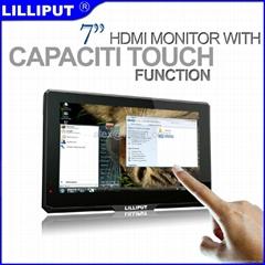 利利普 7寸 电容式高清触摸显示器 10触控 779GL-70NP/C/T