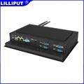 利利普 10.4寸觸摸控制一體機 工業嵌入式平板電腦 PC-1041 3