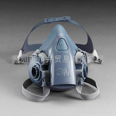 3M7502防護面具 1