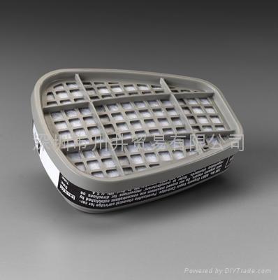 3M6001有機氣體涉毒盒 1