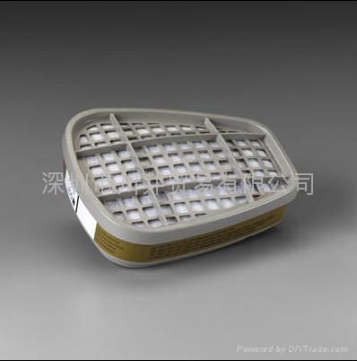 3M6006多用氣體濾毒盒 1