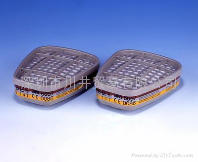 3M6006多用氣體濾毒盒 3