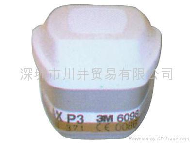 3M6006多用氣體濾毒盒 4