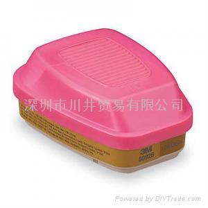 3M6006多用氣體濾毒盒 5