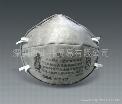 3M8247防護口罩 1
