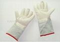 180度耐高温无尘手套 耐高温防静电手套