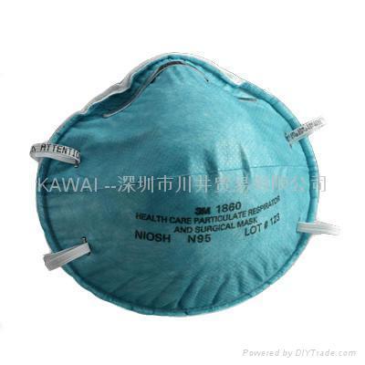 3M1860 N95医用防护口罩 1