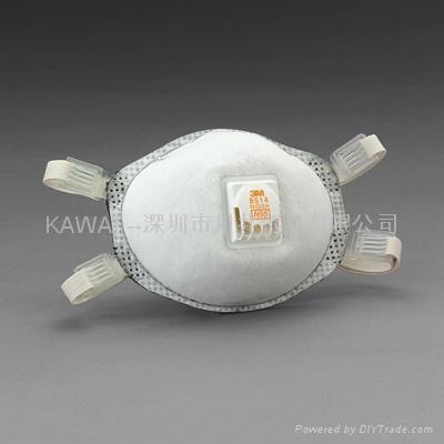 3M8514 N95防護口罩 1