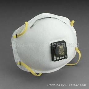 3M8515 N95焊接用防护口罩 1