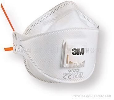 3M9332 FFP3防护口罩 1
