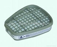 3M6002酸性气体滤毒盒