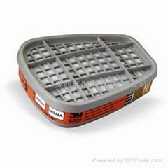 3M6009汞蒸氣/氯氣濾毒盒