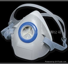 3M7702硅质防护面具