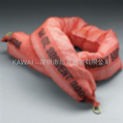 3M T-270栏索状大规模油泄漏应对吸油棉 1
