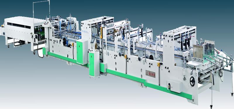 Automatic corrugated carton making machine 1