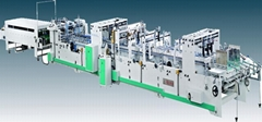Automatic corrugated carton making machine (4/6corner cartons)