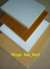 Melamine Laminated MDF for furniture