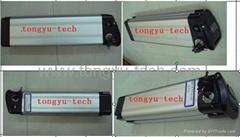 Sliver fish Ebike battery 24V 9Ah, 24V 10Ah, 36V 10Ah
