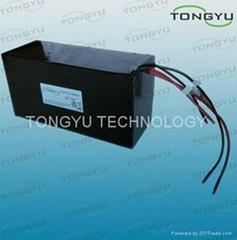 16S 48V 15AH LiFePO4 Li-ion Battery for E-Scooter , E Bike Li ion Battery Pack