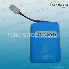 2200mAh 11.1V Lithium Ion Batteries 18650 for LED Light, Emergency Light