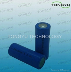ER18505 3.6V Lithium Thionyl Chloride Battery For Intelligent IC Water Meter