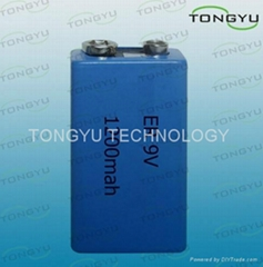 ER 10.8V 1200mAh Lithium Thionyl Chloride Battery for Camera , Computer RAM