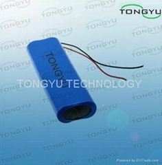 Lithium Ion Rechargeable Battery 11.1V 18Ah For Portable Solar Panels Kits