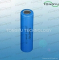 3.7V Lithium Ion Battery 2600mAh 18650