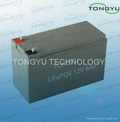 12V 8Ah LiFePO4 Battery For Led Advertising Light Box
