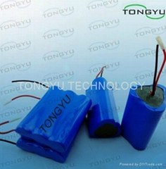 Rechargeable Lithium Ion Battery 11.1V 2600mAh For LED Spotlight