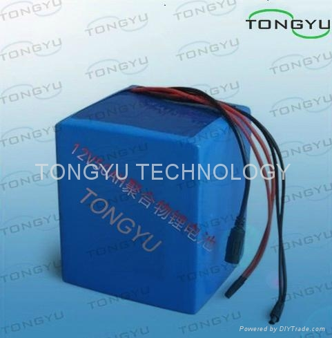 Lightweight Lithium Iron Phosphate Battery 12V 50Ah For Solar Street Lights 1