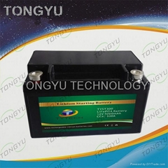 Motorcycle Lithium Starter Battery 12V 5Ah PbEq 8Ah ~ 16Ah