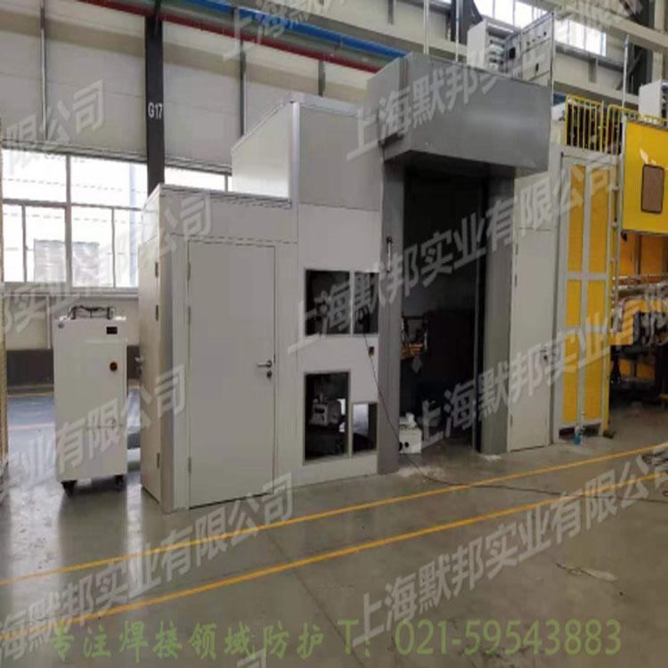供應上海默邦機器人焊接防護門 1