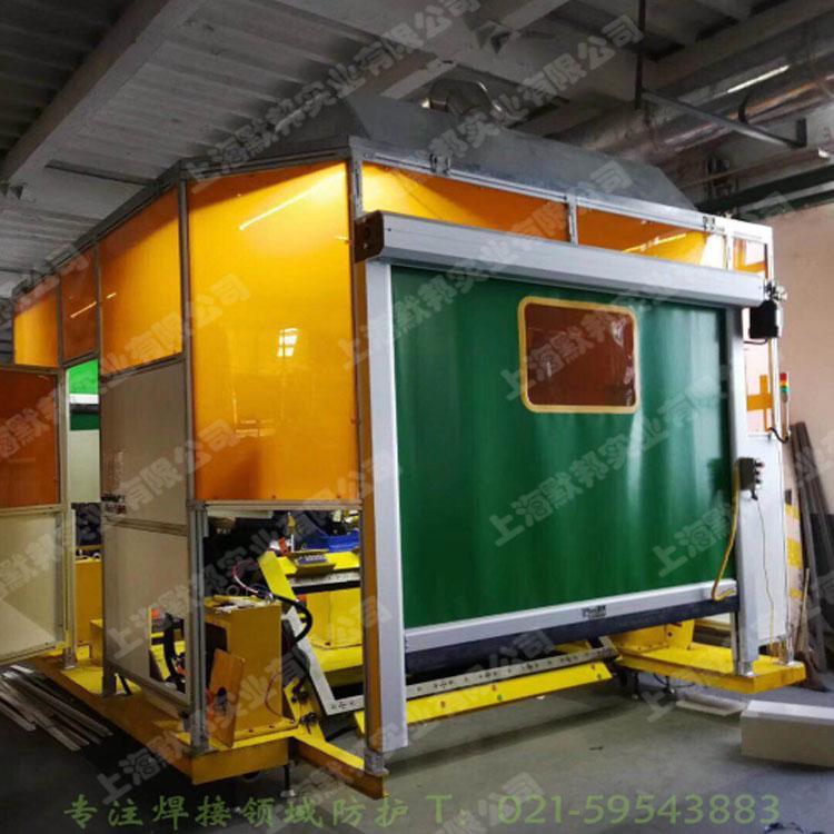 供應上海默邦機器人焊接防護門 3