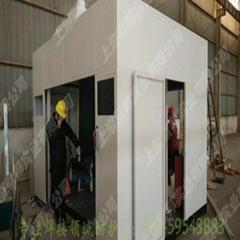 上海默邦機器人焊接快速捲簾門