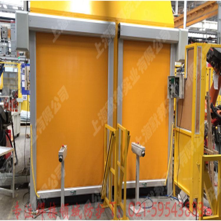 上海默邦機器人焊接快速捲簾門 2