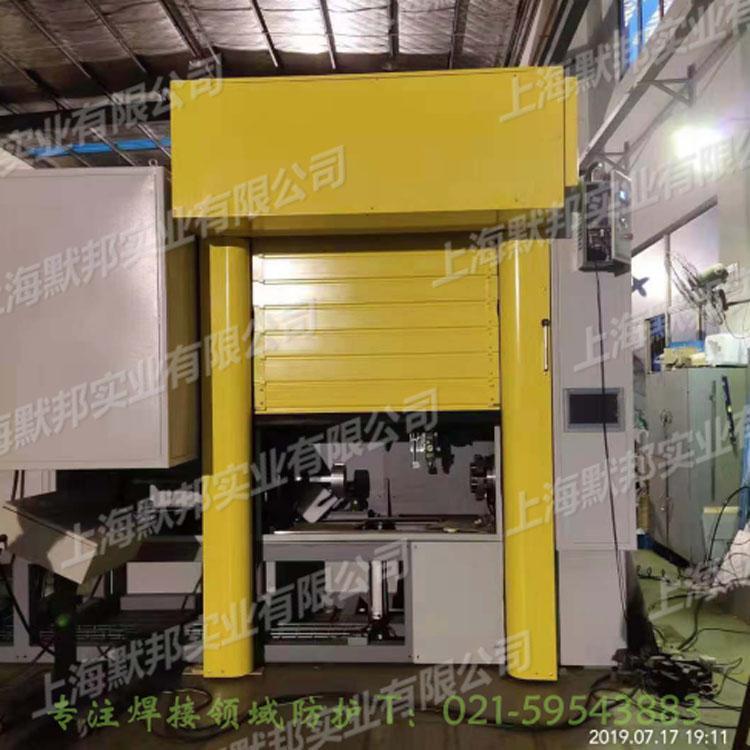 上海默邦機器人焊接快速捲簾門 4