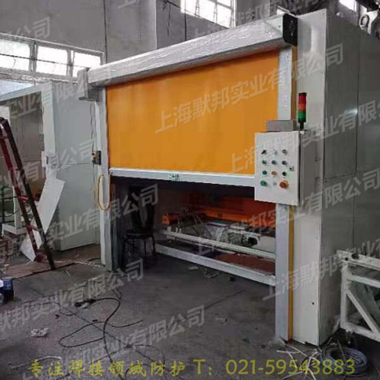 上海默邦機器人焊接快速捲簾門 5
