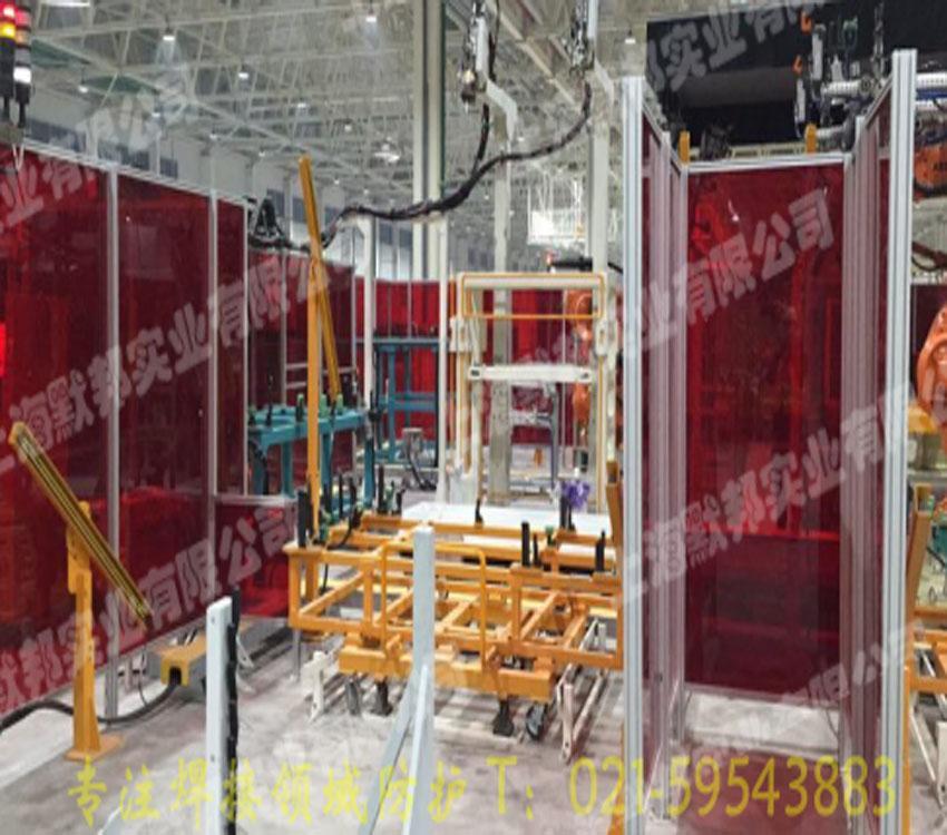 鋁合金框架焊接防護圍欄 1