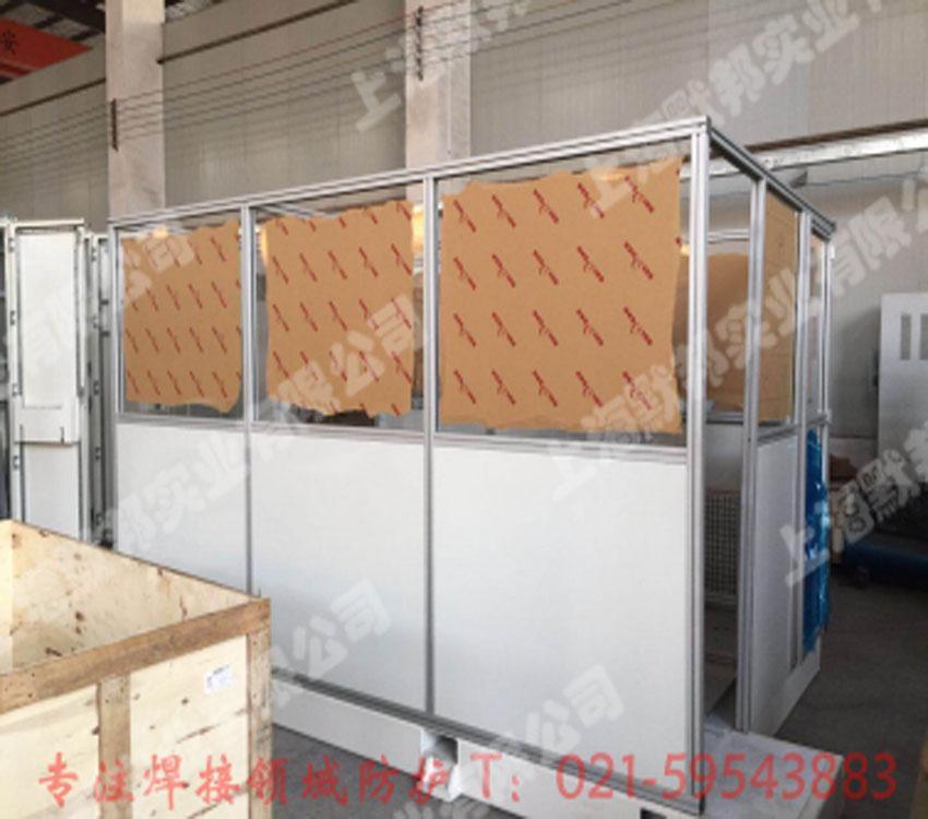 鋁合金框架焊接防護圍欄 3