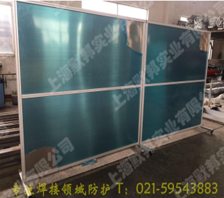 鋁合金框架焊接防護圍欄 5