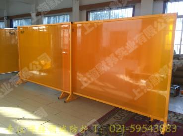 上海默邦防弧光軟板 焊接圍欄 2