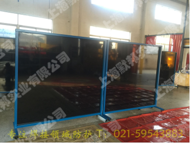 上海默邦防弧光軟板 焊接圍欄 3