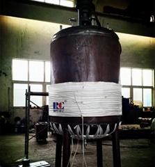 反应釜项目 50KW电磁感应加热器