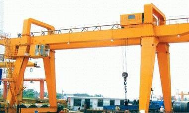 MH型3t-20t电动葫芦木行架箱型门式起重机 1