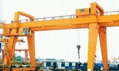 MH型3t-20t电动葫芦木行架箱型门式起重机